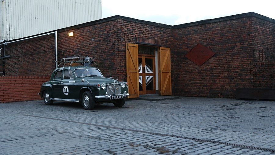 "The original Hendrick's Gin distillery and their ""Hendrick's Mobile"""
